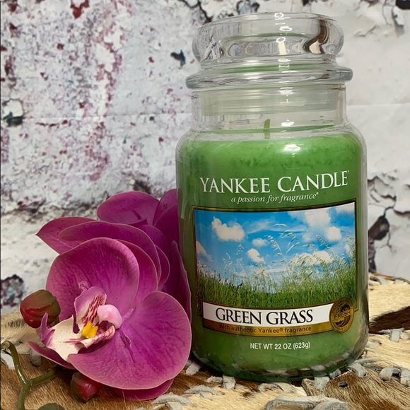 Yankee candle green grass 22 ounce candle